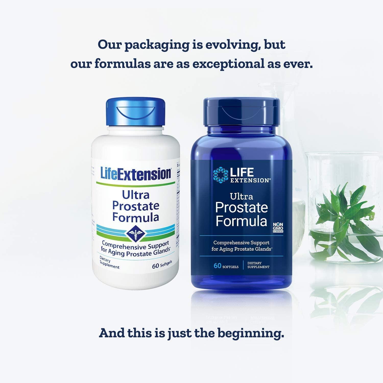 Life Extension Ultra Prostate Softgels - 60 Tablet (2'li Paket)