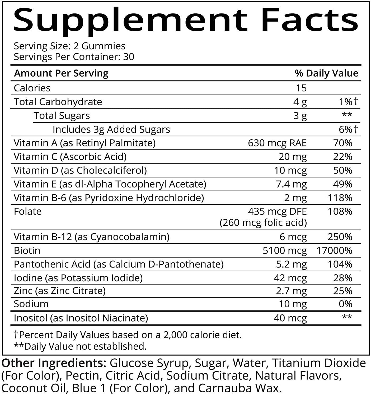 SugarBearHair Vitamins - 60 Tablet