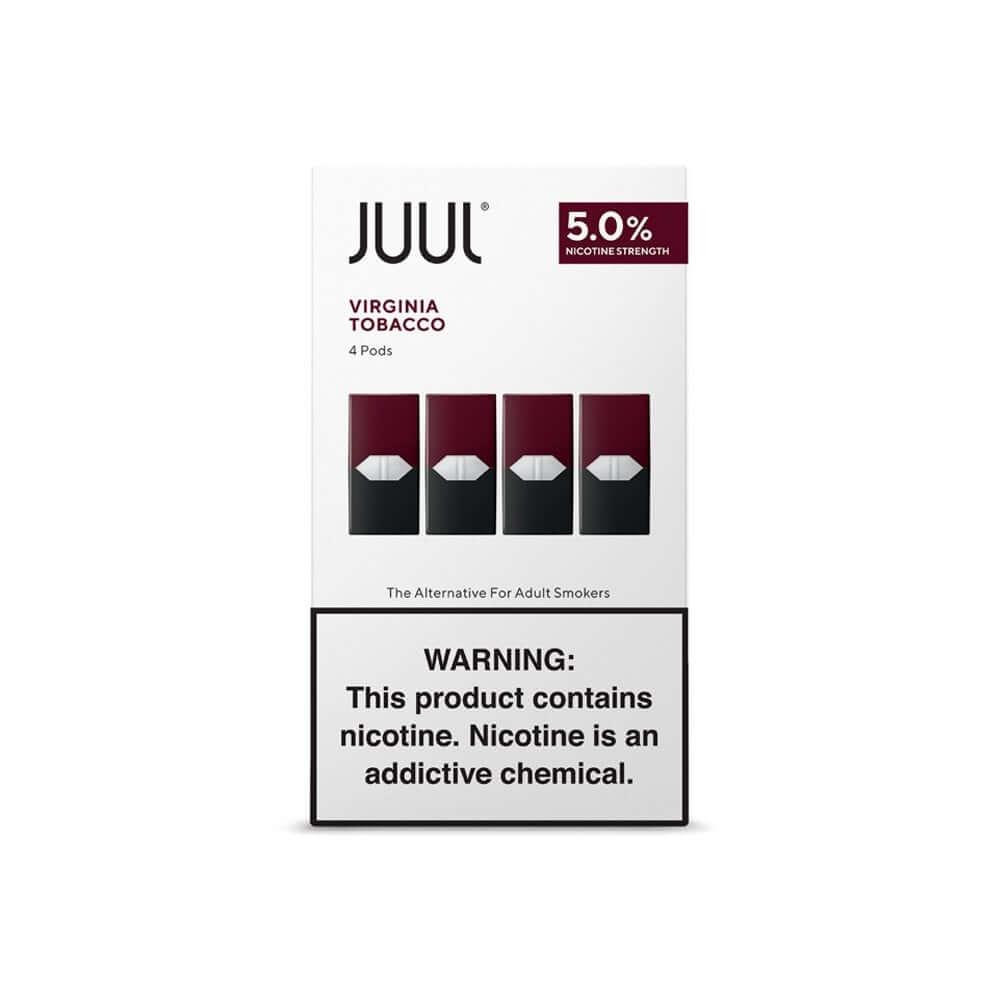 Juul Pods Virginia %5 Nicotine - 4'lü