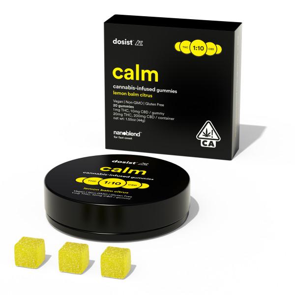 Dosist Lemon Balm Citrus THC Gummies - Calm