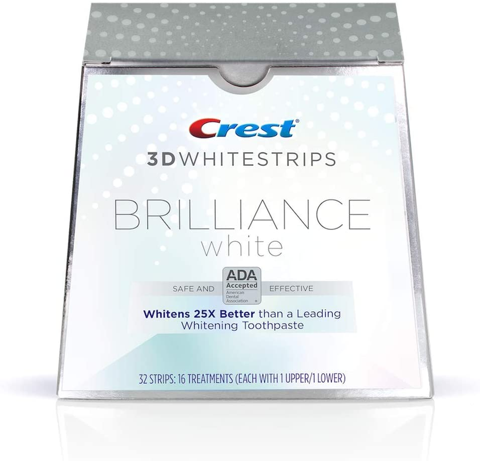 Crest 3D Whitestrips Brilliance White - 32 Strips
