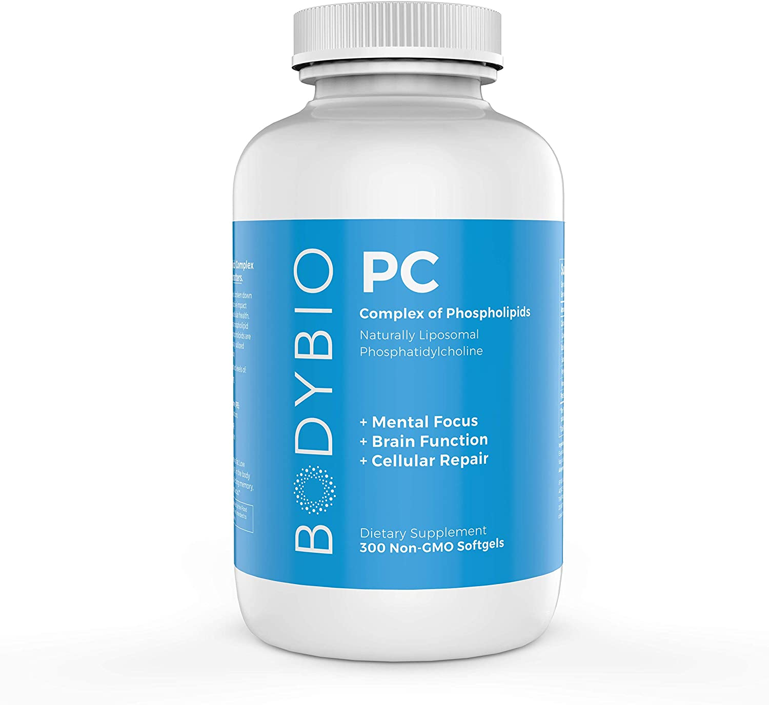 BodyBio PC Phosphatidylcholine + Phospholipids - 300 Tablet