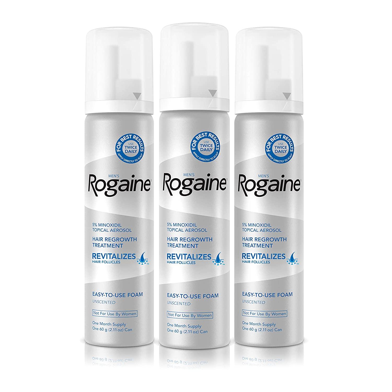Rogaine 5% Minoxidil Foam - 3 Aylık