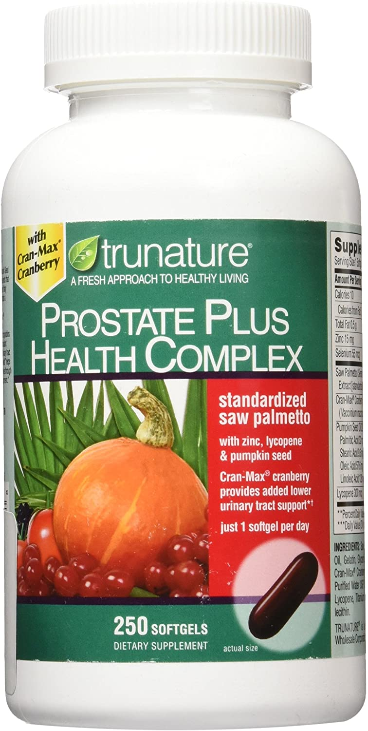 TruNature Prostate Plus Health Complex - 250 Tablet