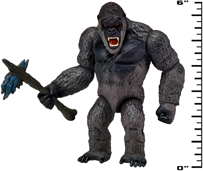 PlayMates Godzilla vs Kong with Battle-Axe