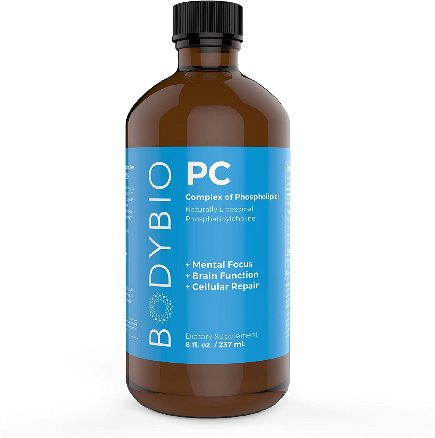 BodyBio PC Phosphatidylcholine + Phospholipids - 8 oz