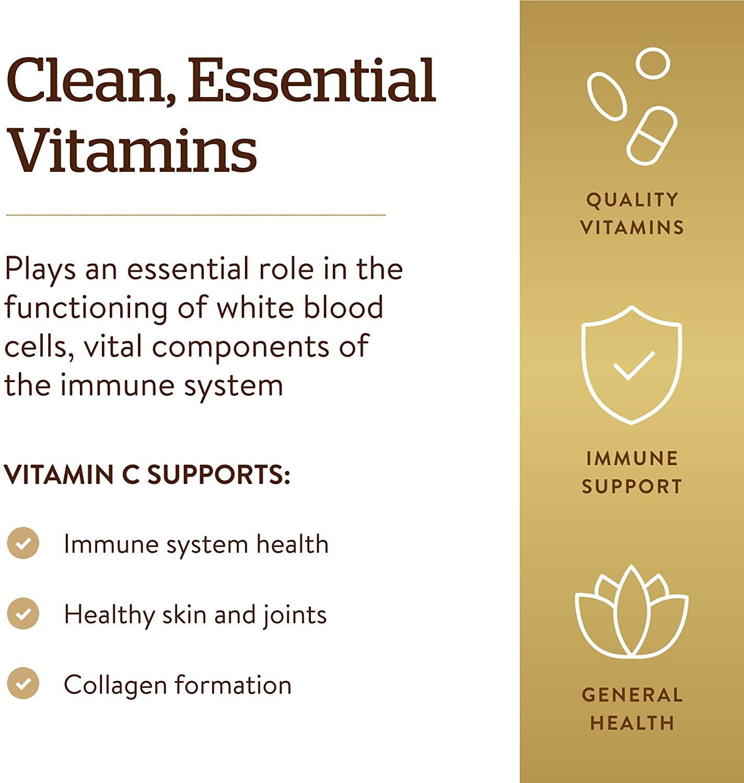 Solgar Vitamin C 1000 mg - 250 Tablet