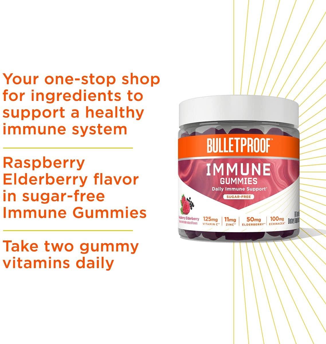 Bulletproof Immune Gummies - 60 Adet