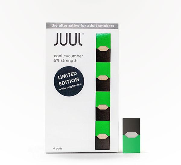 Juul Pods Cucumber %5 Strength - 4 pack