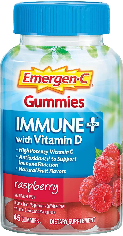 Emergen-C Immune+ Immune Gummies - 45 Gummies