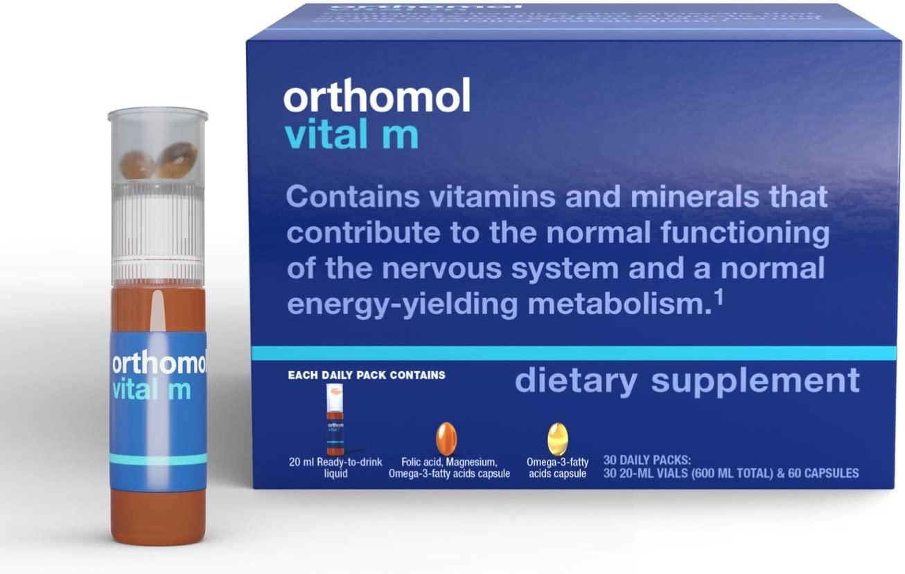 Orthomol Vital M for MEN - 30 Günlük Kür