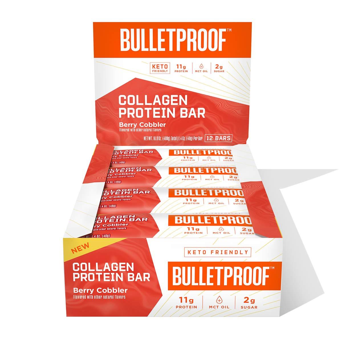 Bulletproof Collagen Protein Bars - 12 Paket