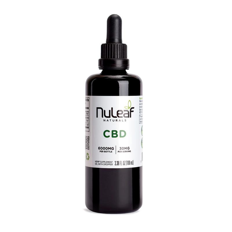 Nuleaf 6000mg Full Spectrum CBD Oil - 60mg/ml