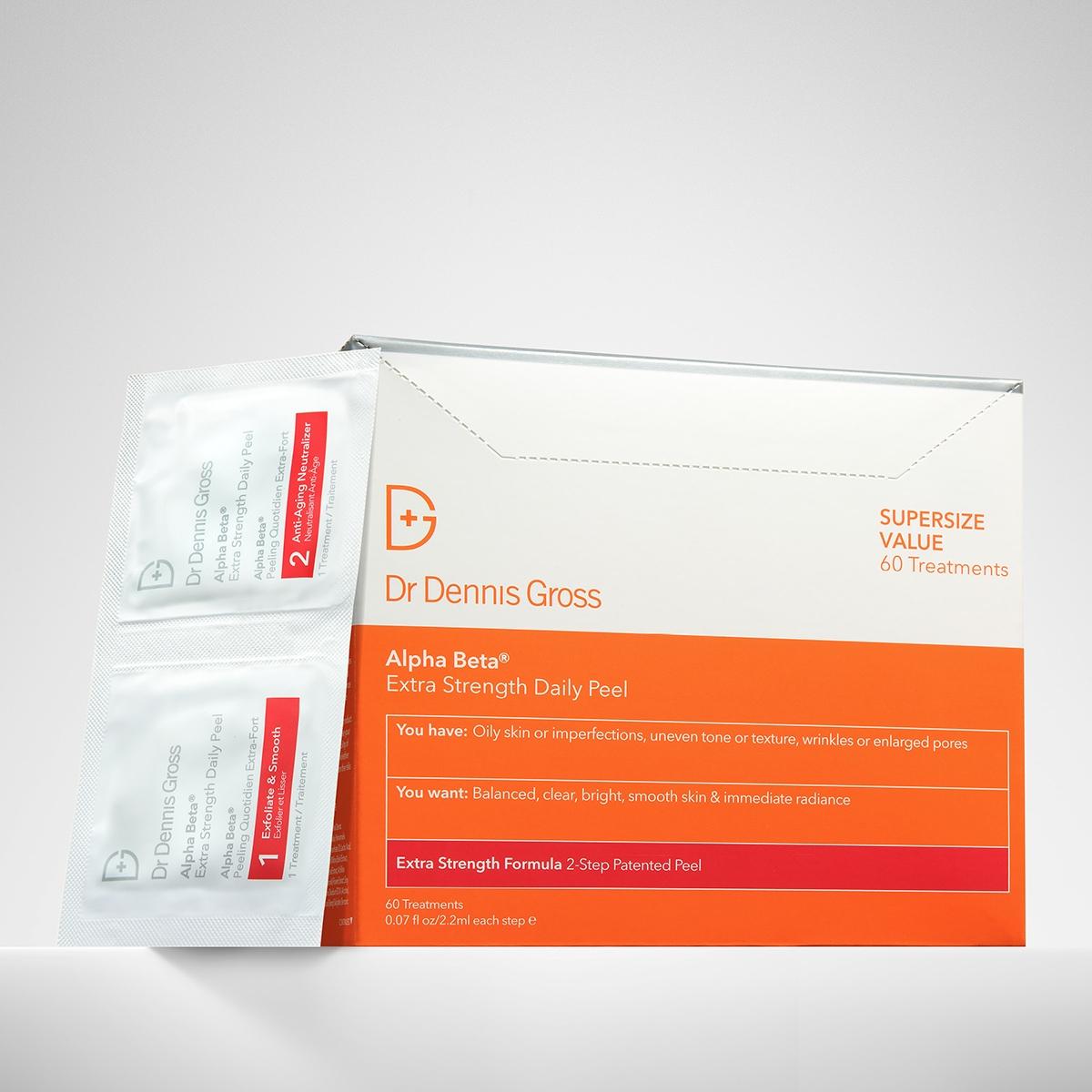Dr. Dennis Gross Alpha Beta Extra Strength Daily Peel - 60 Paket