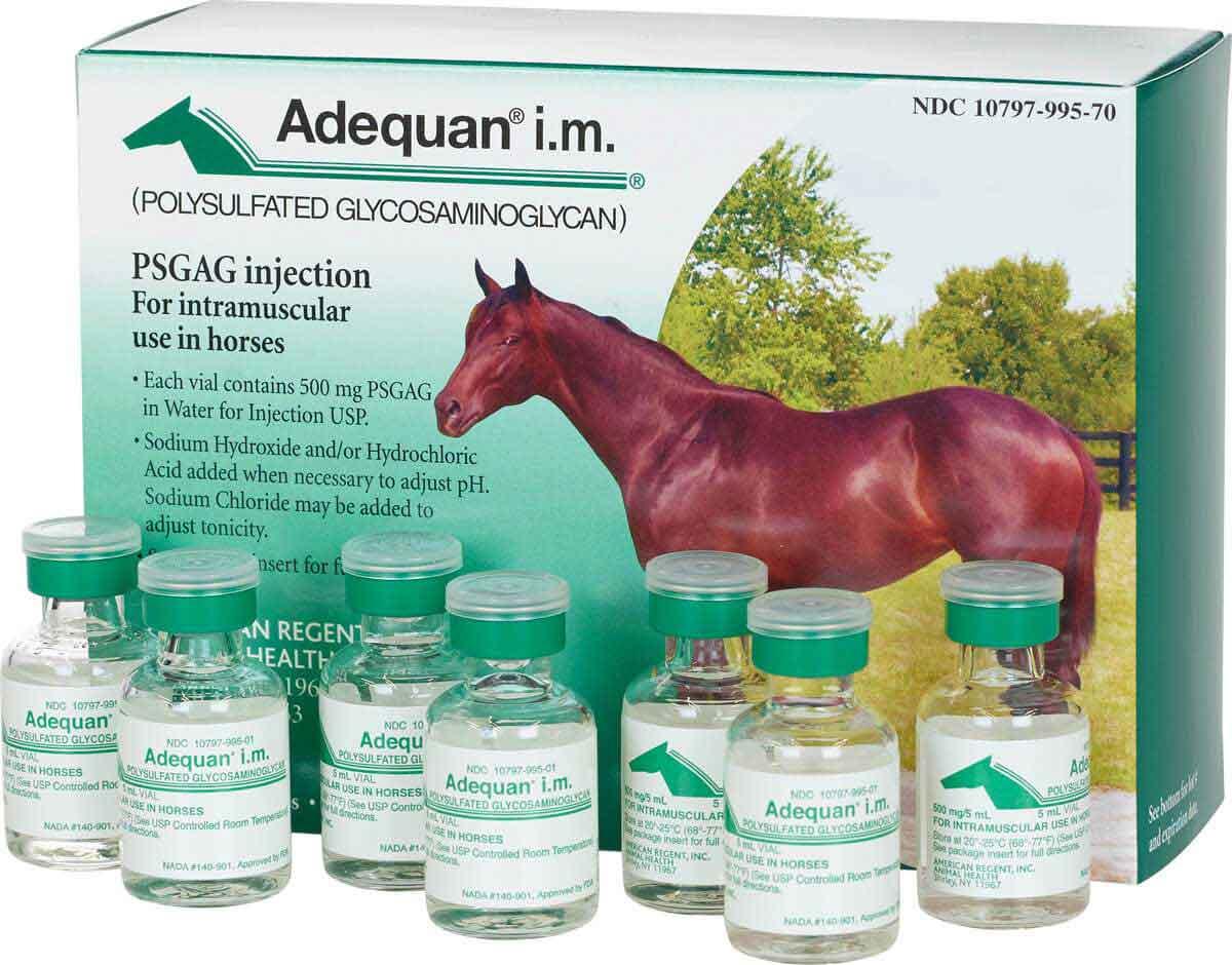 Adequan i.m. Equine 500mg/5ml - 7ct