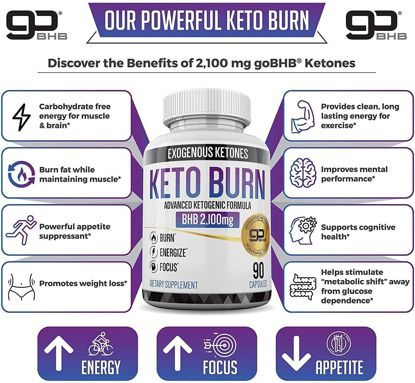 Exogenous Ketones BHB Supplement - 90 Tablet