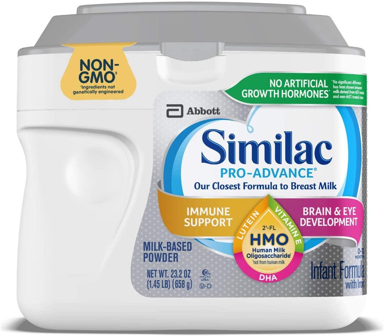 Similac Pro-Advance Non-GMO Infant Formula - 23.2 Ounce