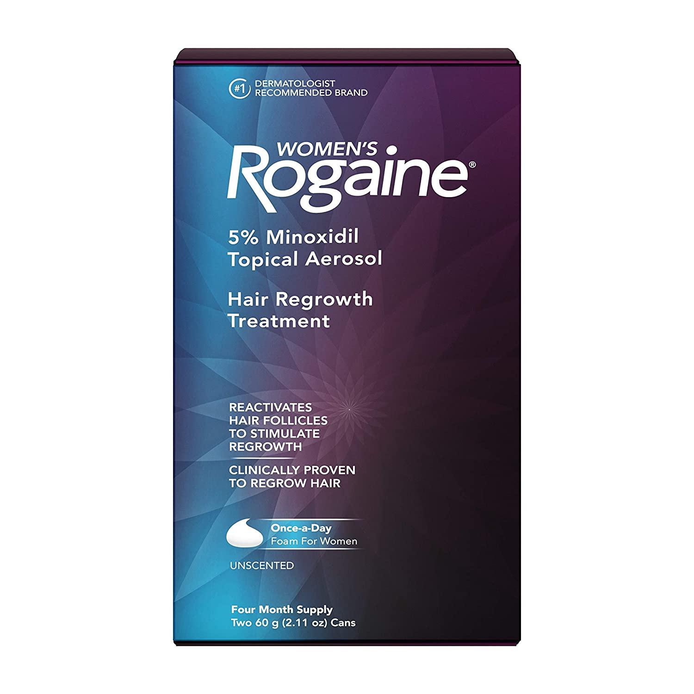 Women's Rogaine 5% Minoxidil Foam - 4 Aylık