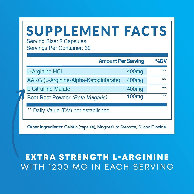 Havasu Nutrition L-Arginine Capsules - 60 Tablet