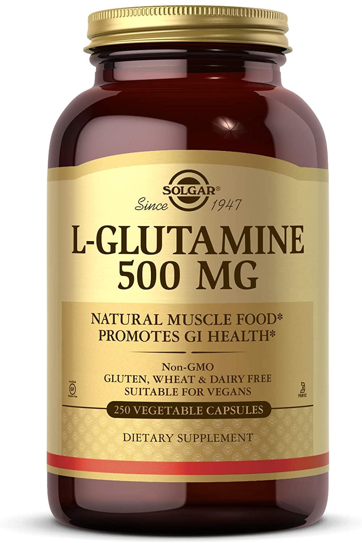 Solgar L-Glutamine 500 mg - 250 Tablet