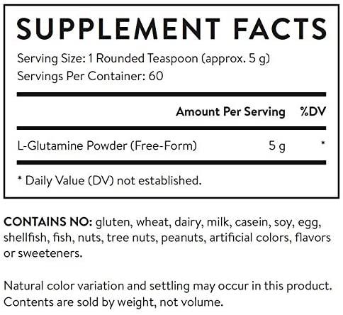 Essential Stacks Gut L-Glutamine Powder - 10.6 oz