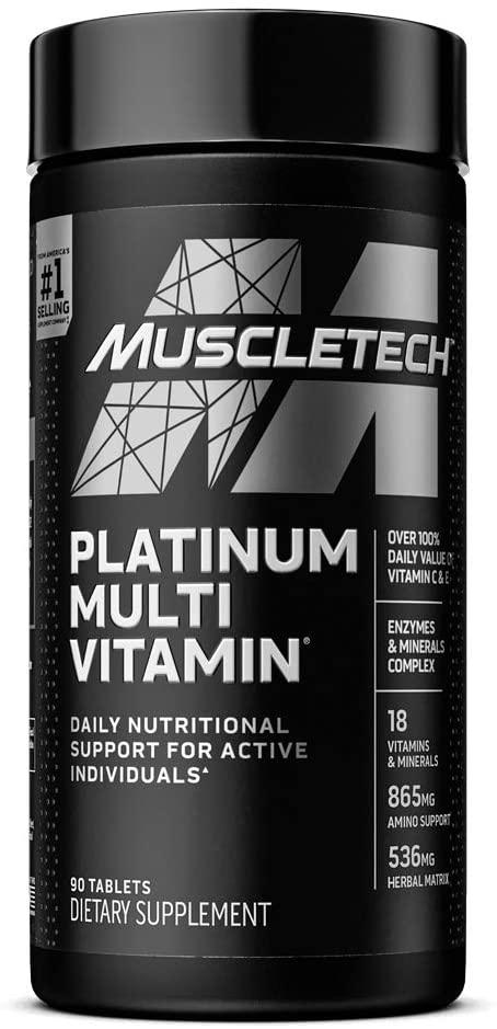 Muscletech Platinum Multivitamin - 90 Tablet