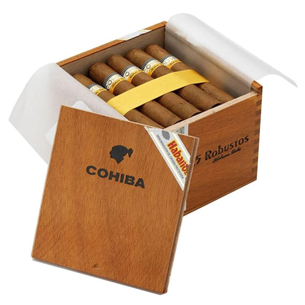 Cohiba Robustos - 25 Cigars