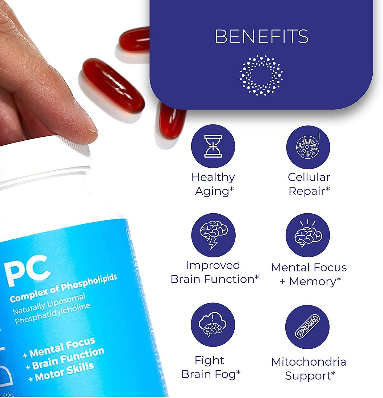 BodyBio PC Phosphatidylcholine + Phospholipids - 8 oz