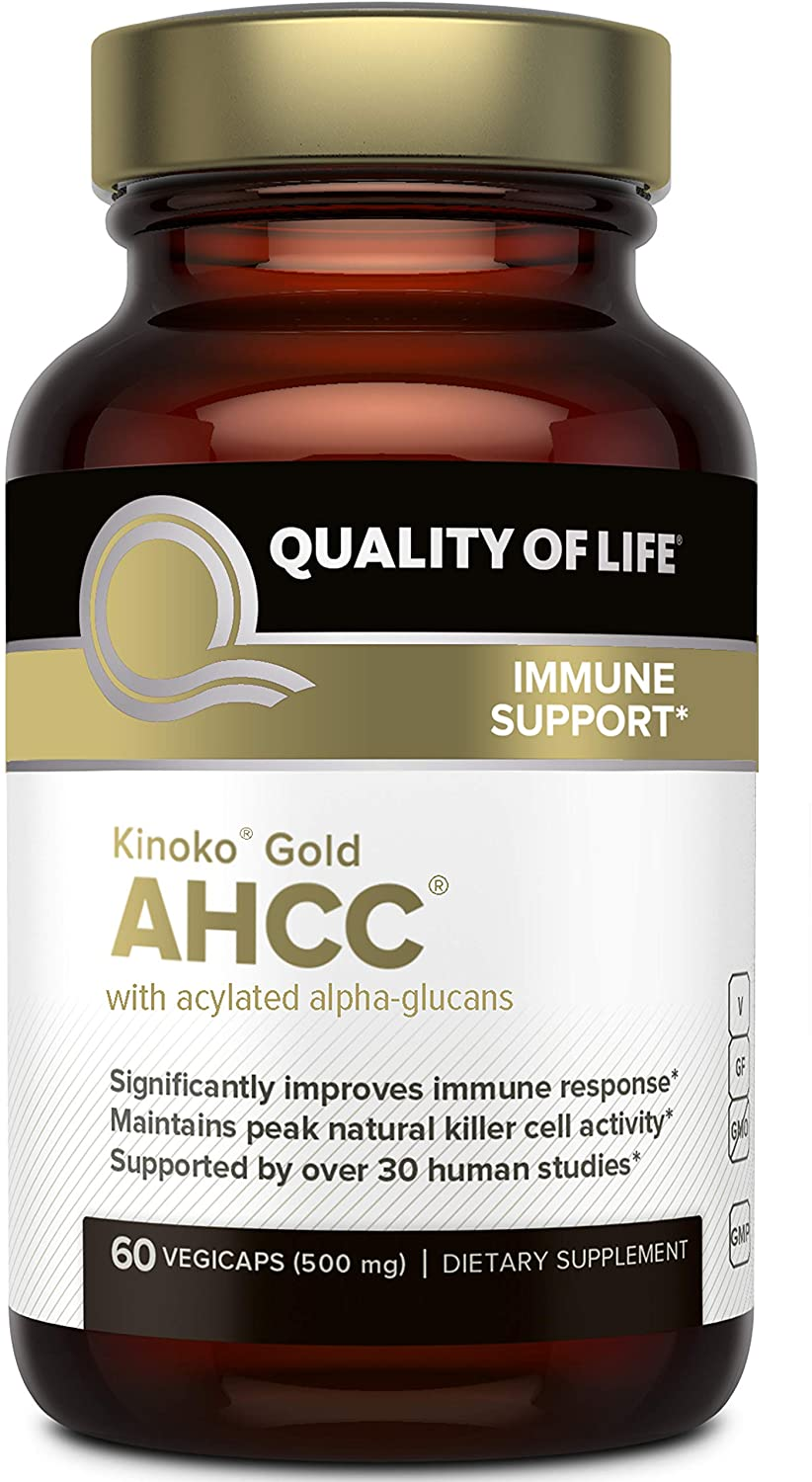 Premium Kinoko Gold AHCC Supplement 500mg - 60 Tablet
