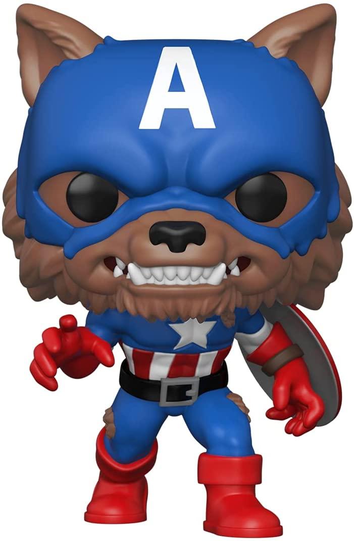 Funko Pop! Marvel: Year of The Shield - Capwolf