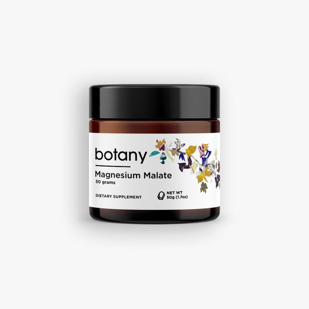 Botany Magnesium Malate Powder - 50 g