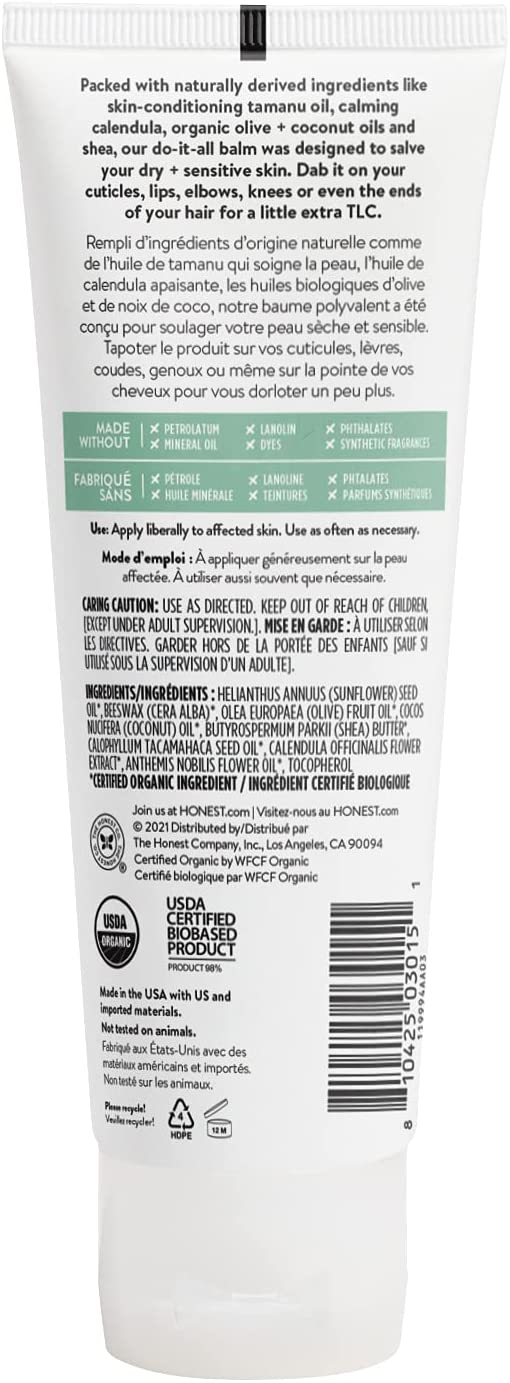 The Honest Company  Organic All-Purpose Balm - 100 g