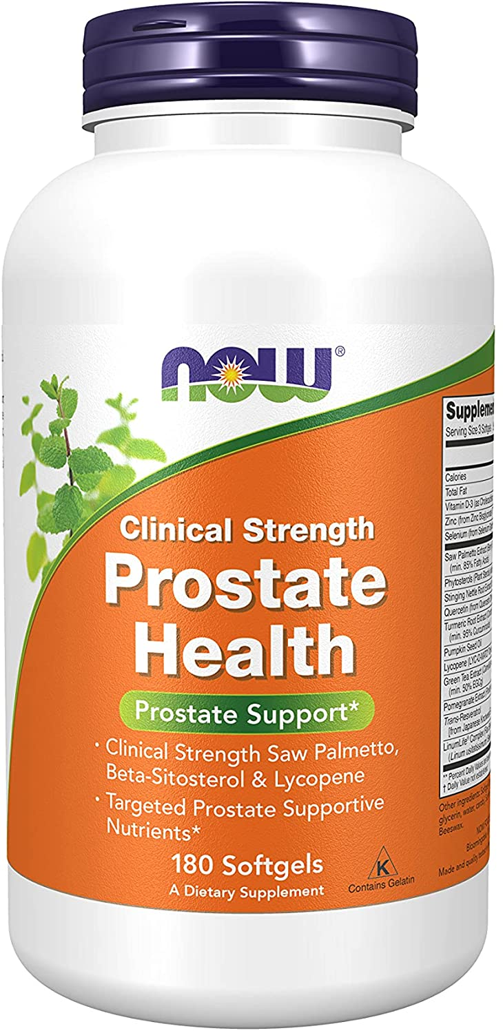 NOW Supplements Prostate Health - 180 Tablet