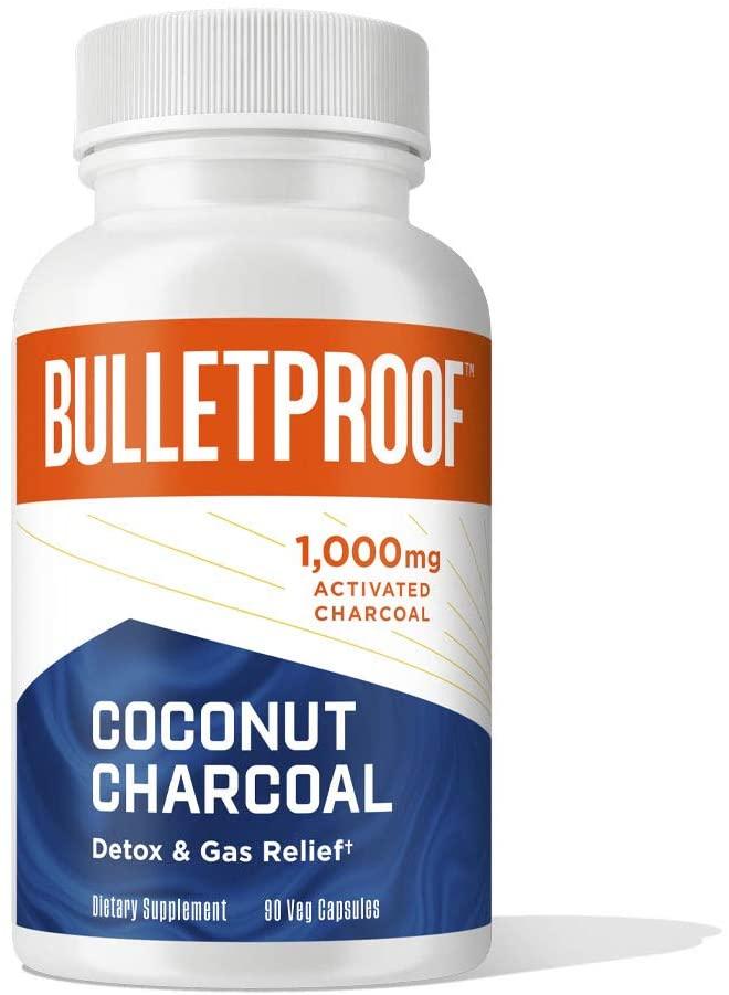 Bulletproof Coconut Charcoal - 90 Tablet