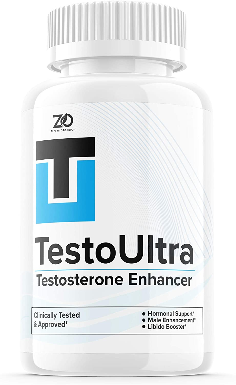 TestoUltra Testosterone Enhancer - 60 Tablet