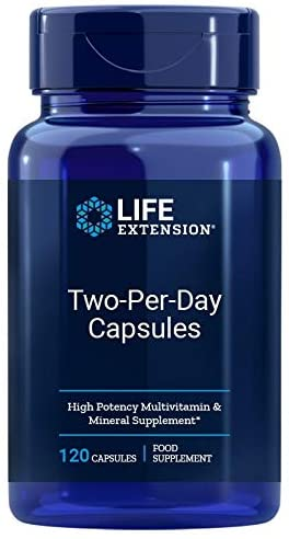 Life Extension Two Per Day - 120 Tablet