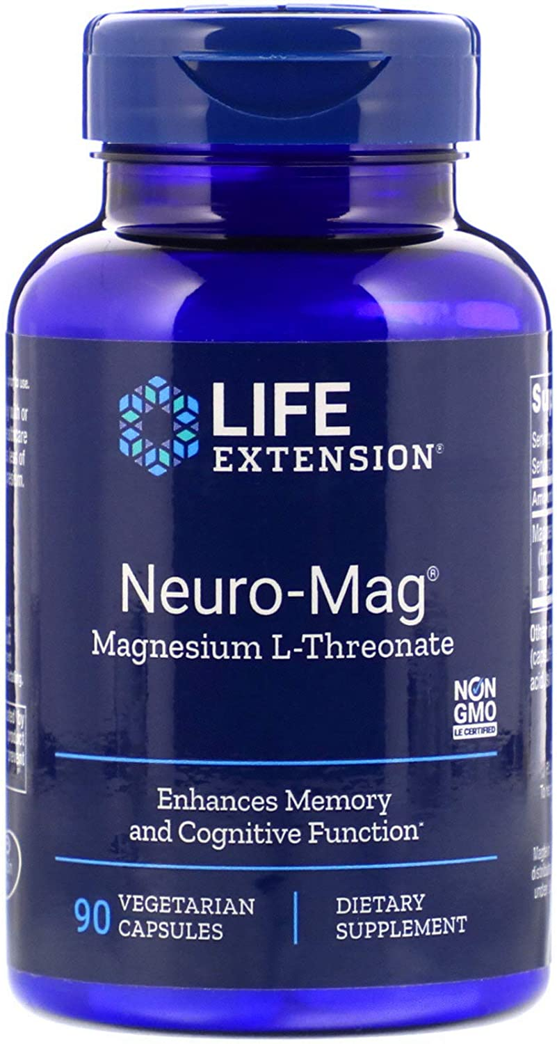 Life Extension Neuro-Mag Magnesium L-Threonate - 90 Tablet