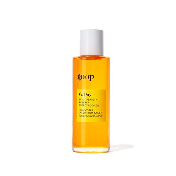 Goop Beauty G.Day Black Pepper + Rose Hip Energy Body Oil - 90 ml