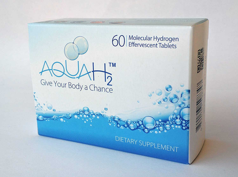 Aquah2 Molecular Hydrogen Tablets - 60 Tablet