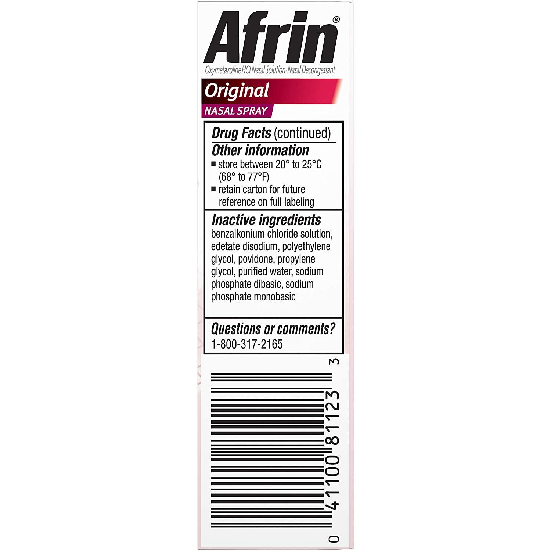 Afrin Original Nasal Spray - 15 ml - 3'lü Paket