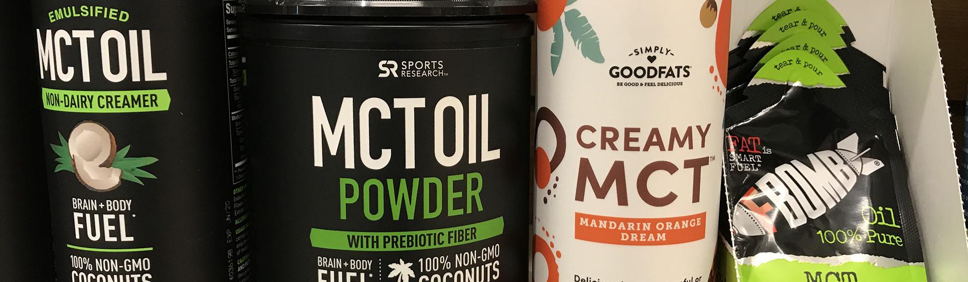MCT Oil Siparişi Vermek