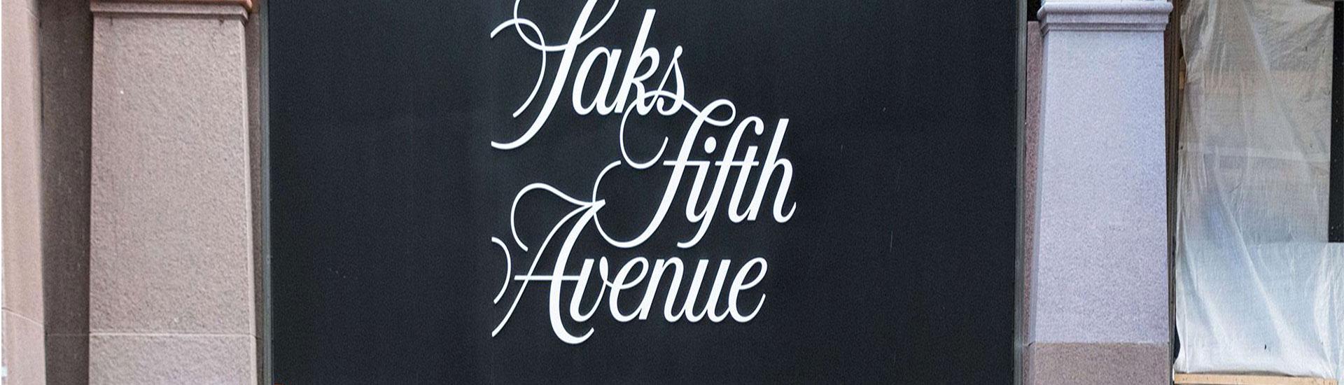 Saks Fifth Avenue'den Alışveriş