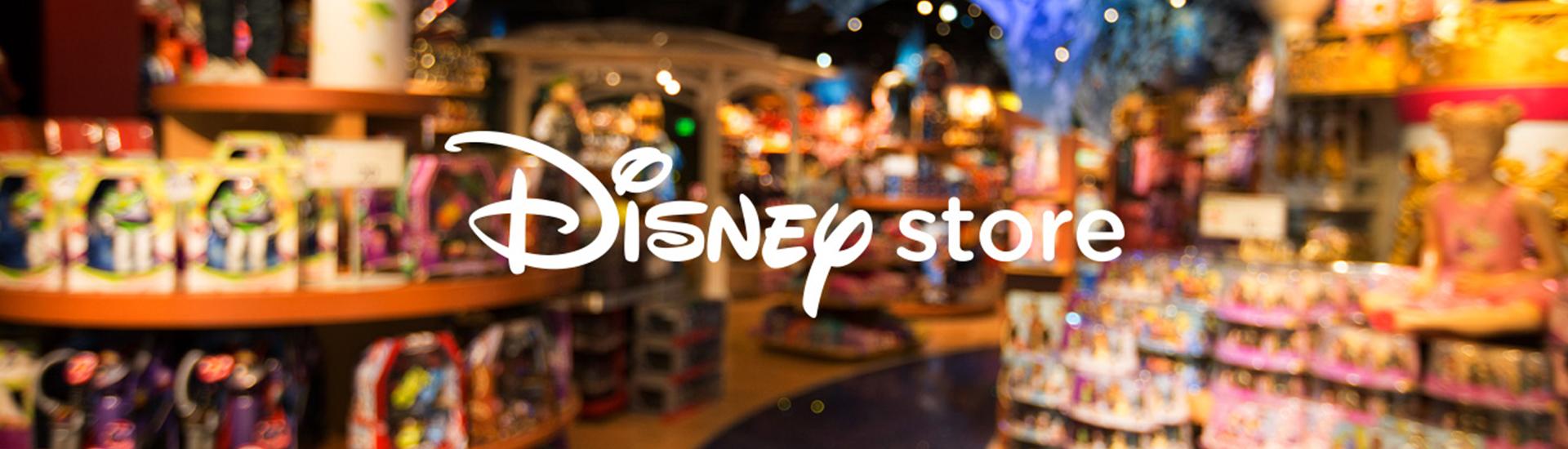 Disney Store'dan Alışveriş