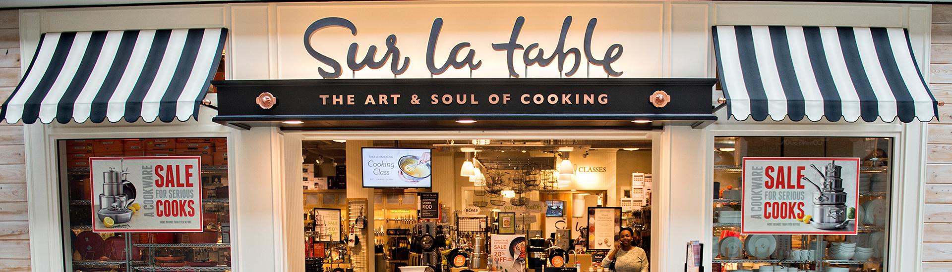 Sur La Table'dan Alışveriş