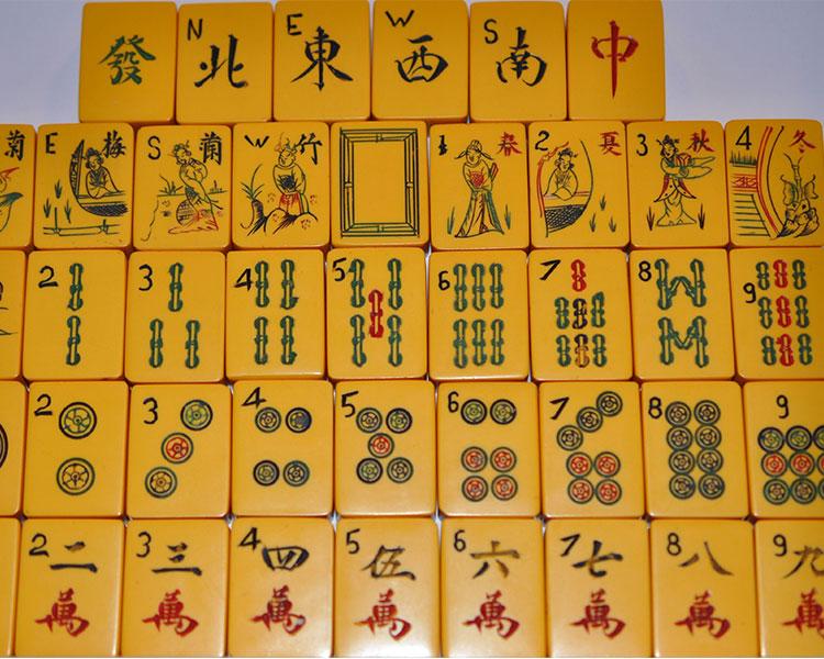 Orjinal Mahjong Seti Sipariş