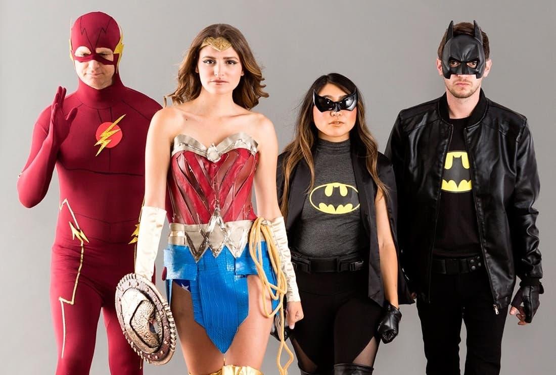 Süper Kahramanlar Kostümleri