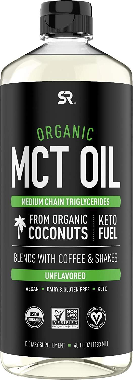 Sports Research Organic MCT Oil - 40 fl oz