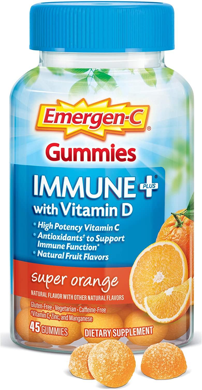 Emergen-C Immune+ - 45 Gummies