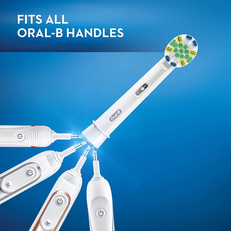 Oral-B FlossAction Toothbrush Refill Brush Heads - 5 Adet