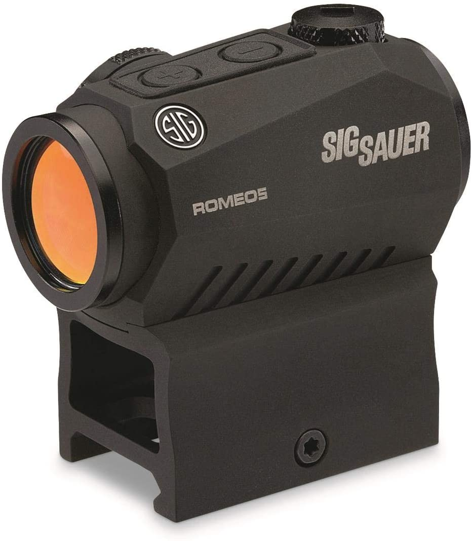 Sig Sauer SOR52001 Romeo5 1x20mm Compact 2 Moa Red Dot Sight - Black